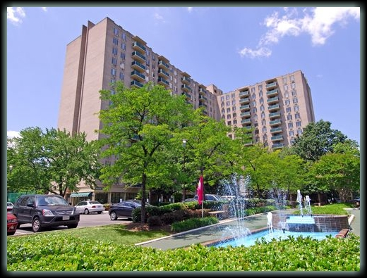 our appartment in Crystal City, VA